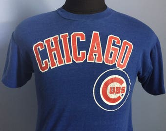 80s Vintage Chicago Cubs mlb baseball T-Shirt - MEDIUM