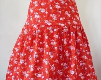 Anna floral printed 100% cotton skirt