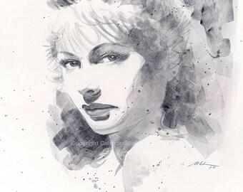 Original Hedy Lamarr Portrait