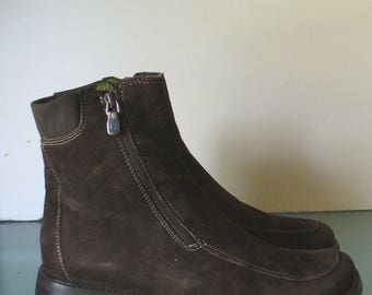 Donald J. Pliner Made in Italy Short Brown Boots 8.5 M US