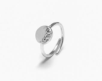 Circle Sterling Ring