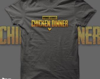 PUBG - Chicken Dinner t shirt - Battlegrounds