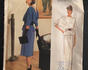 Bellville Sassoon Very Easy Vogue Designer Original Pattern #1402 Size 10
