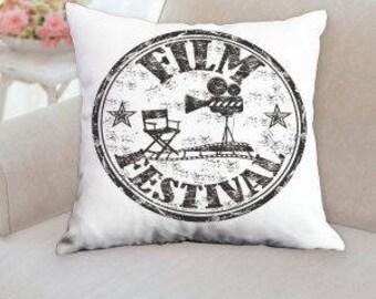 Film Festival Movie Pillow