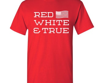 Red White & True T Shirt