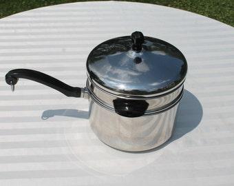 Farberware Aluminum Clad Stainless Steel Double Boiler