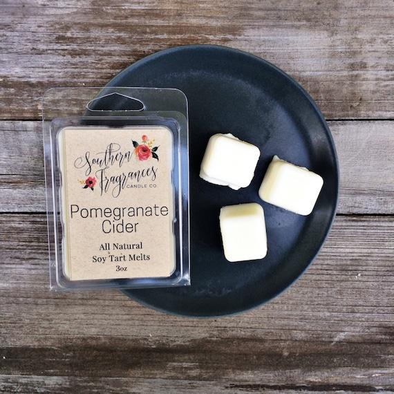 Pomegranate Cider Soy Tart Melt | Tart Melt | All Natural Soy | Eco Friendly | Home Decor | Tart Warmer Melt | Fall Fragrance