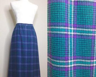 Vintage Pendleton Skirt - 100% Wool - M/L