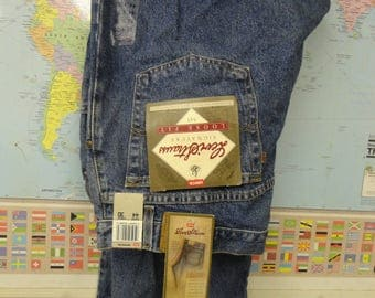 LEVIS STRAUSS SIGNATURE Loos Fit Blue Jeans - Vintage Levis Jeans - size 44/30 - New Old Stuck Never Washed or Warn