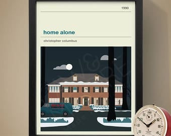 Home Alone Movie Poster - Movie Poster, Movie Print, Film Poster, Film Poster