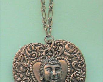 SALE! Seated Buddha Necklace