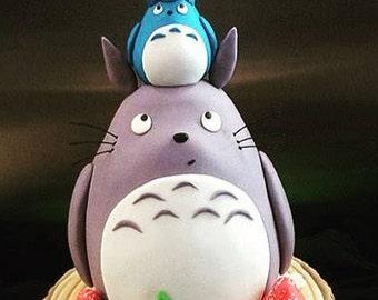 Totoro Cake Topper
