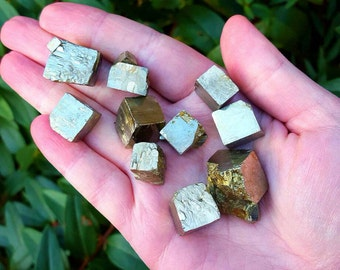 Pyrite Cube - Pyrite Crystal - Fools Gold
