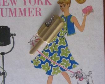 1960s Razza popsicle brooch | 60's 70's unique ooak jewelry