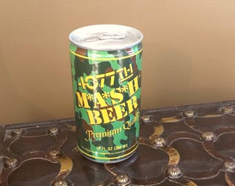 Unopened 4077th MASH BEER Premium Quality 1970s from the hit TV show M*A*S*H*