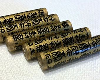 Paper Beads - Japanese Letters