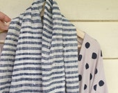 reserved for Carmen Clothing Dress Pure Cotton Sustainable Eco Handmade size small Pockets natural fibre polka dots
