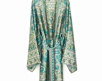 kimono robe, silk kimono robes, silk robe, kimono robe, silk kimono robe, paisley kimono, silk robes, floral silk robe, bridesmaid robe