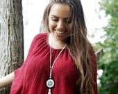 Orgone Necklace - 'Spirit Jewels'  - Energy Healing Pendant - Meditation - Crystal Healing Boho Gypsy Jewellery