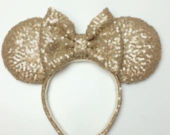 Custom Minnie Ears, Minnie Ears, Princess Ears, Sequence Ears