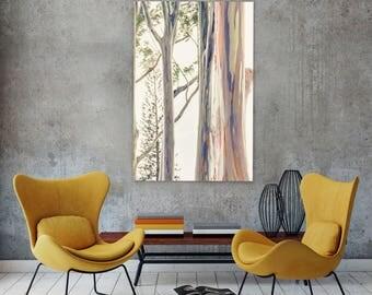 tree art abstract tree photography rainbow eucalyptus tree hawaii art abstract hawaii - Living Room Decor Tree