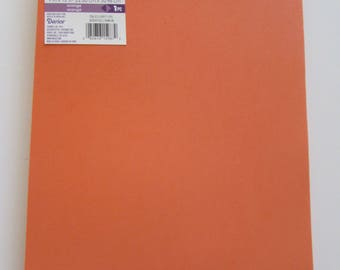 10 Sheets of Foam 9x12 - Orange - Ideal for foam crafts, fofuchas and more