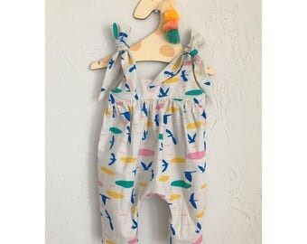 Boho Romper, Baby & Toddler, Custom Made