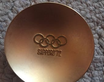 1972 Japan Olympics Gold bowl