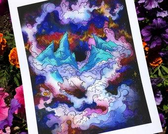 Mountain Aura || Giclee Print