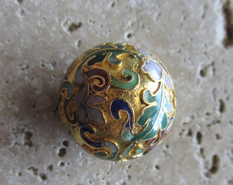 Vintage Cloisonne Beads from the 70's