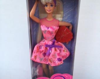 Valentine Barbie, 1997 Special Edition, NRFB Barbie