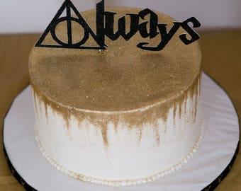 Harry Potter Cake Topper Always Wedding