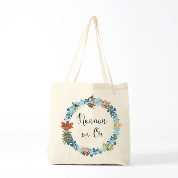 Gift nanny, canvas bag nanny, tote bag nanny.