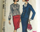 1960s Suit Pattern McCall...