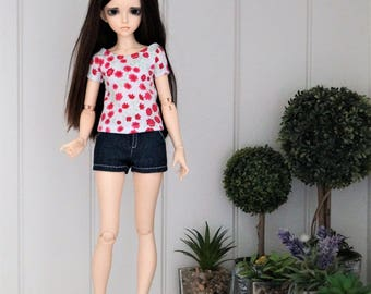 Shirt for bjd slim msd Minifee