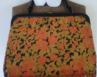 Vintage Carpet Bag, Handbag
