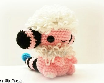 Crochet Flaafy Inspired Chibi Pokemon
