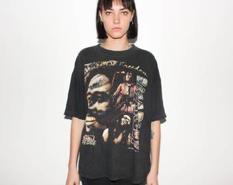 Vtg 1997 Bob Marley Bootleg 90s Hip Hop Style Promo T Shirt