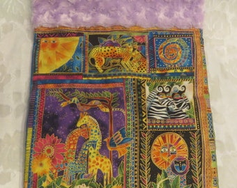 Cat Cuddle Sack Laurel Burch Snuggle Puppy Bed Cat Lover Gift