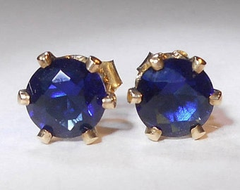 cds shape studs earrings span blue category banner mens sapphire gemstone
