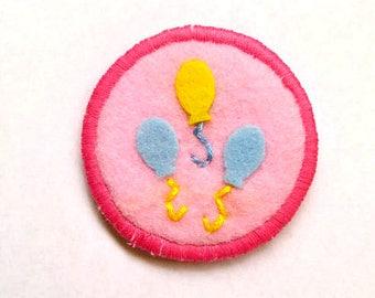 Pinkie Pie Cutie Mark My Little Pony Friendship is Magic Badge Pin Patch