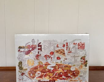 """Vintage Bruce Johnson Jigsaw Puzzle - """"The Works"""""""