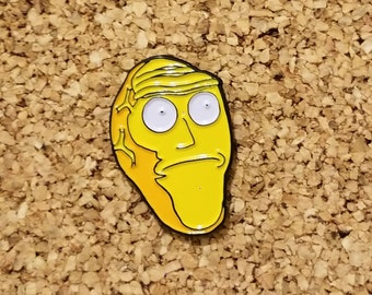 Giant Head Pin - Rick and Morty Pin - Show Me What You Got