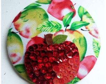 """Glamourous headpiece """"Apple"""""""