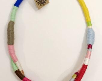 Rainbow Rope Necklace