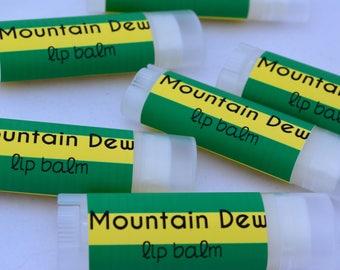 Mountain Dew Type Lip Balm, Sweetened Lip Balm, Mountain Dew Chapstick, Natural Lip Balm, Lip Moisturizer, Buttery Chapstick, Lip Care