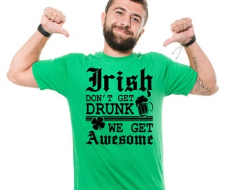 St Patty Day T-Shirt Funny Irish Drinking Party Pub Funny Cool St Patrick's Day Tee Shirt