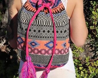 Rucksack,Rucksack Backpack,Rucksac Women,Rucksack Men,Rucksack Cotton,Rucksack Backpack Women,Tapestry Backpack,Aztec Backpack, Bucket Bag