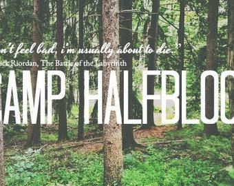 Percy Jackson Tea - Camp Halfblood