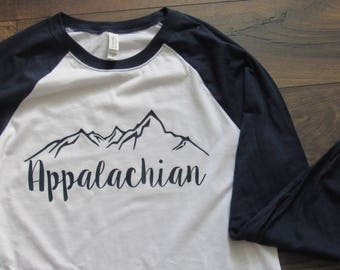 Appalachian Baseball Tee
